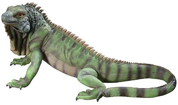 Iggy Iguana Garden Statue