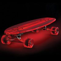 Illuminated LED Skateboard