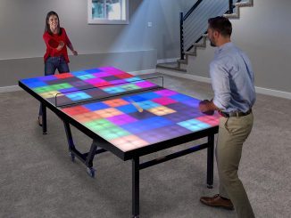 Illuminated Ping Pong Table