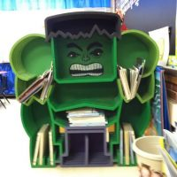 Incredible Hulk Custom Bookcase