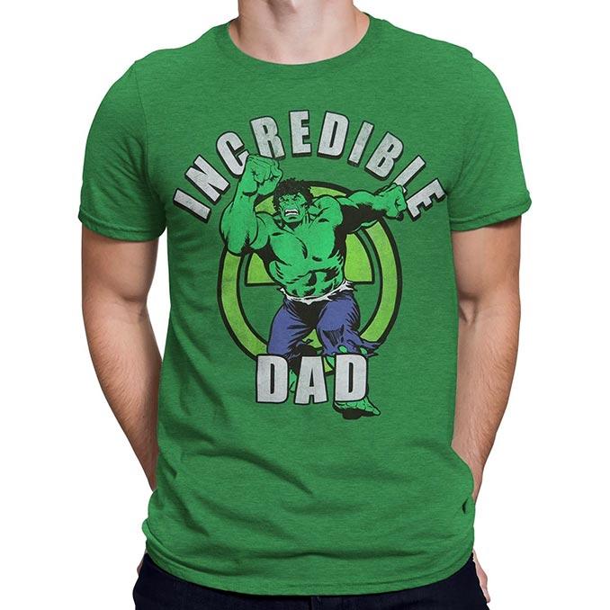 Incredible Hulk Dad T-Shirt
