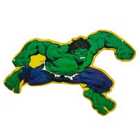 Incredible Hulk Marvel Embossed Tin Sign