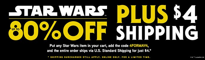 Incredible Star Wars Deals
