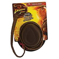 Indiana Jones Adult Hat and Whip Set