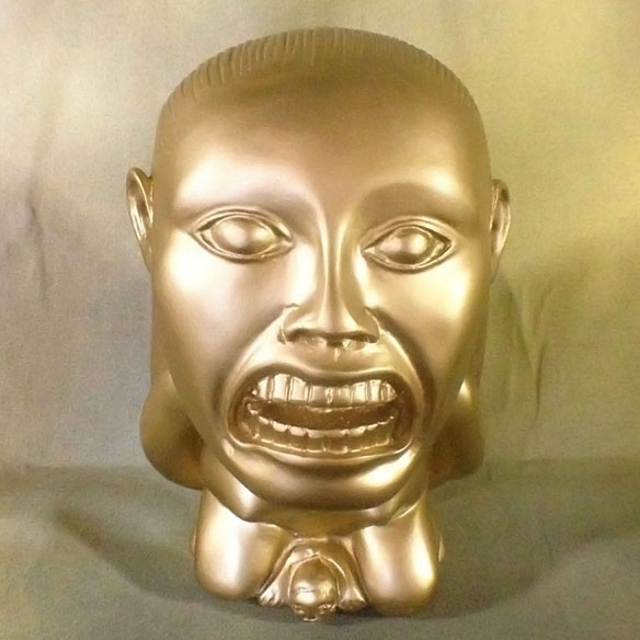 Indiana Jones Aztec Golden Idol of Fertility