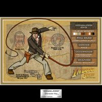Indiana Jones Character Key