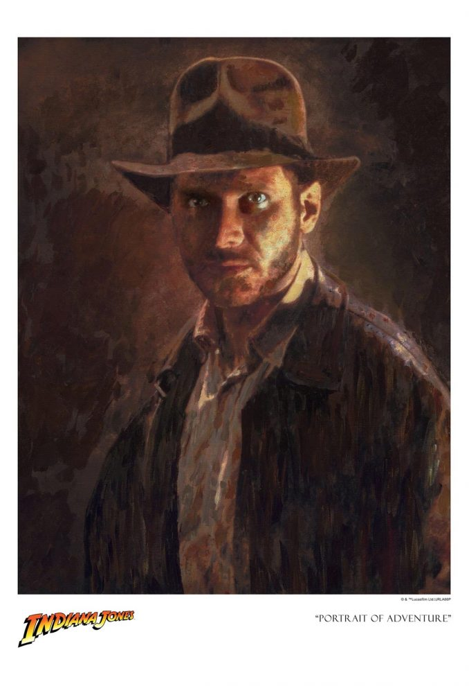 Indiana Jones Portrait of Adventure Giclee