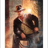 Indiana Jones Temple of Doom Premium Art Print