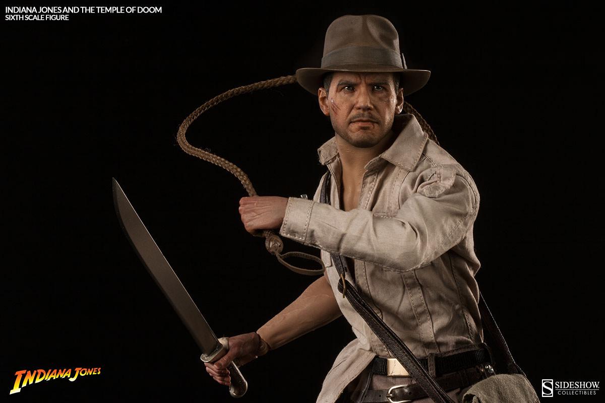 Indiana Jones Temple Of Doom Sixth Scale Figure