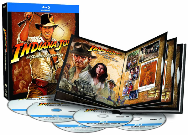 Indiana Jones The Complete Adventures on Blu-ray