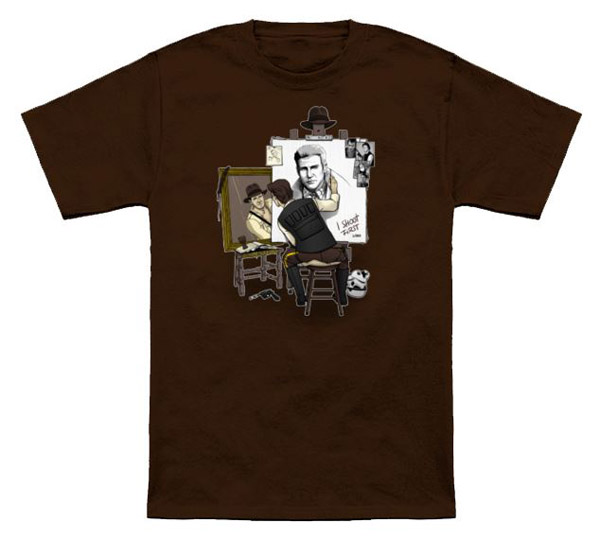 Indiana Solo Hero Self Portrait T-Shirt