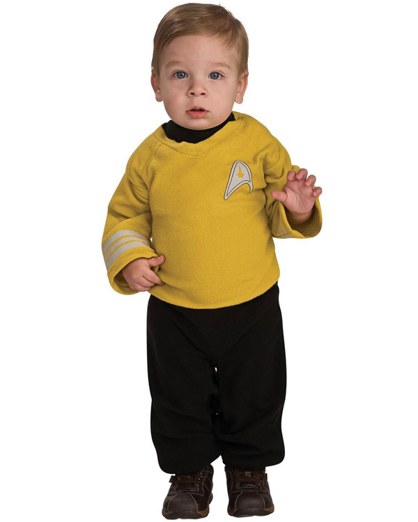 Infant Star Trek Kirk Costume