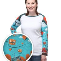 Infinite Adventure Ladies Raglan Tee