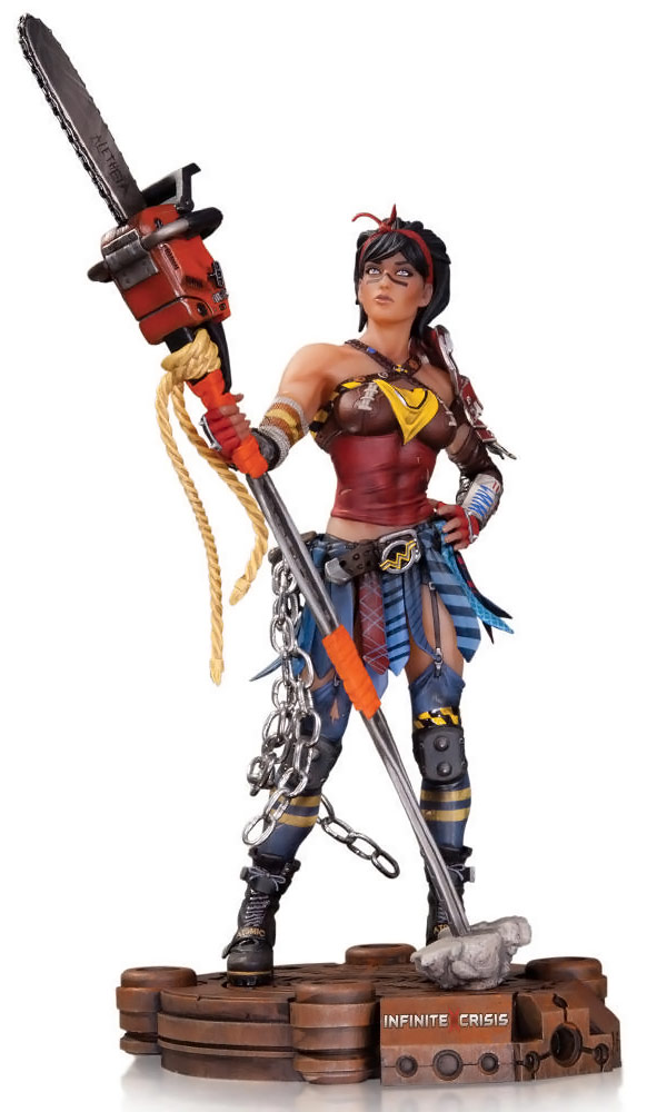 Infinite Crisis Atomic Wonder Woman Figure