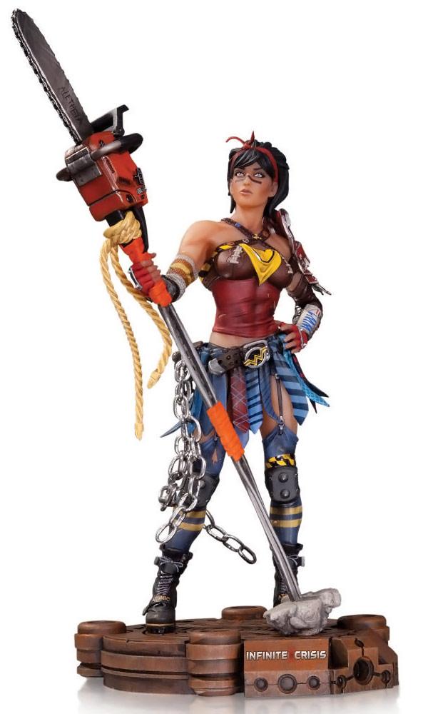 Infinite Crisis Atomic Wonder Woman Figure