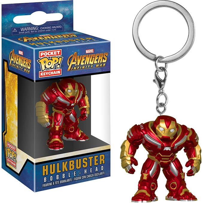 Infinity War Hulkbuster Funko Pocket Pop Keychain