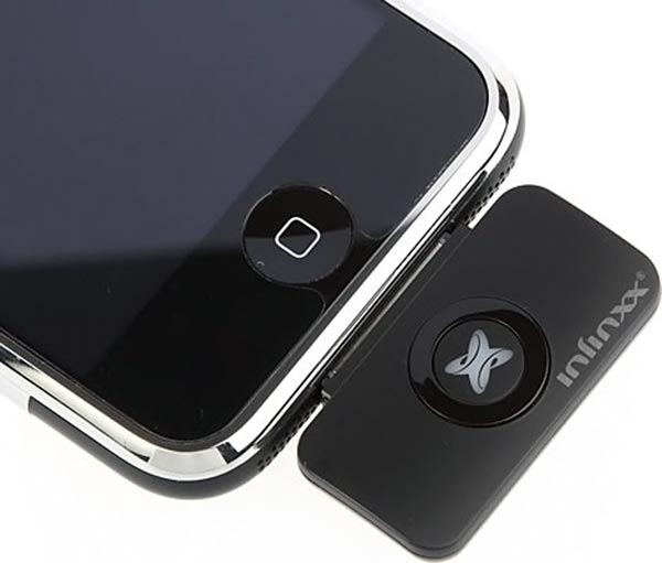 Infinxx iPhone Bluetooth Transmitter