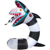 Inflatable Animated Beetlejuice Sandworm