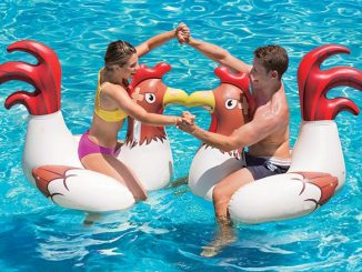 Inflatable Chicken Fight Pool Floats