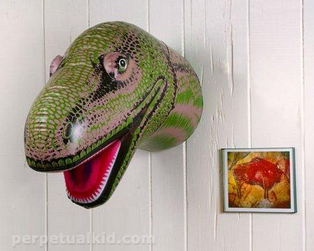 Inflatable Dinosaur Head