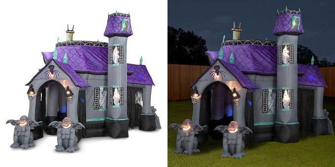 Inflatable Halloween Castle