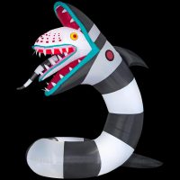 Inflatable Lighted Animated Beetlejuice Sandworm