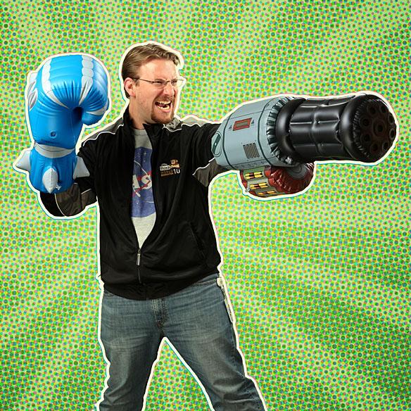 Inflatable Minigun