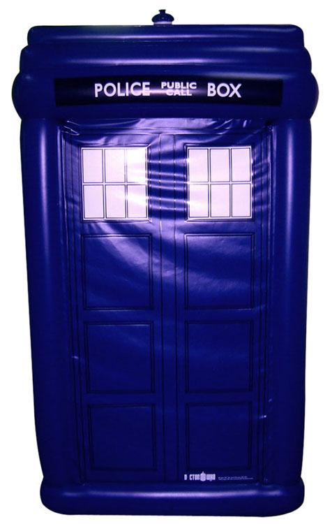 inflatable TARDIS