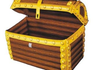 Inflatable Treasure Chest Cooler