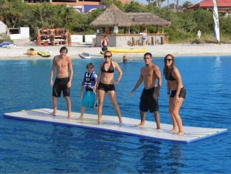 Inflatable Walk On Water Mat