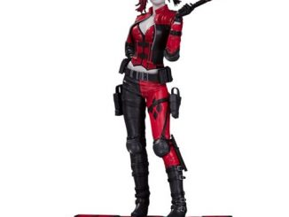 Injustice 2 Harley Quinn Red, White, and Black 1 10 Scale Statue