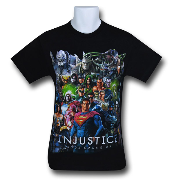 Injustice Big Group T-Shirt
