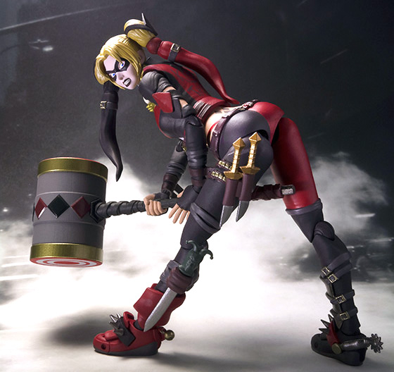 The Injustice Gods Among Us Harley Quinn SH Figuarts Action Figure Will Be Available August 2015 But It Can Pre Ordered Now For 5599 At Entertainment