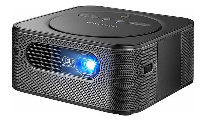 Insignia Reverb Premium Audio Pico WVGA DLP Projector