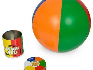 Instant Canned Inflatable Beach Ball