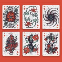 Into the Weird Playing Card Styles