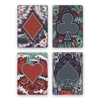 Into the Weird Playing Cards Aces
