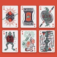 Into the Weird Playing Cards Designs