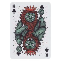 Into the Weird Playing Cards King