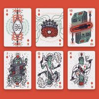 Into the Weird Playing Cards Style