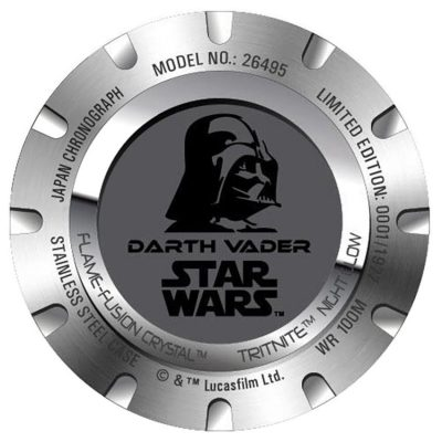 Invicta 26495 Darth Vader Watch Back
