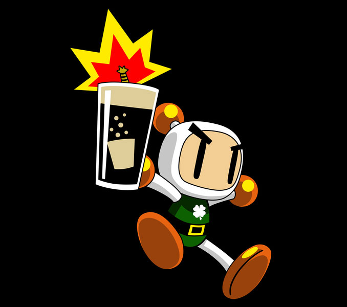 Irish Bomberman T-Shirt