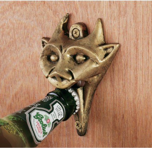 Iron Gargoyle Bottle Opener