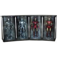 Iron Man 2 Hall Of Armor Environment Set of Four