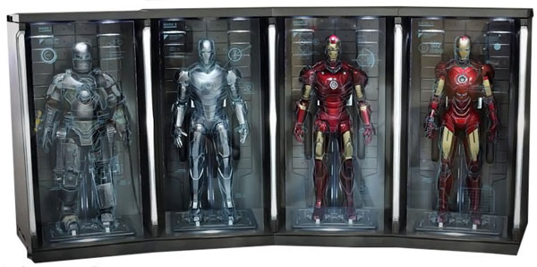 Iron Man 2 Hall Of Armor Environment