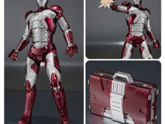 Iron Man 2 Iron Man Mark V and Hall of Armor SH Figuarts Set