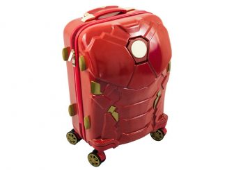 Iron Man 24-Inch Light-Up Suitcase