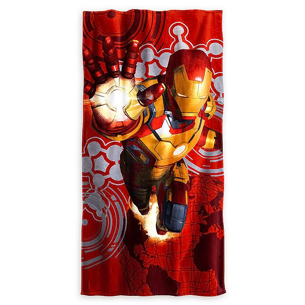 Iron Man 3 Beach Towel