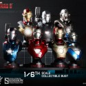 Iron Man 3 Collectible Bust Deluxe Set