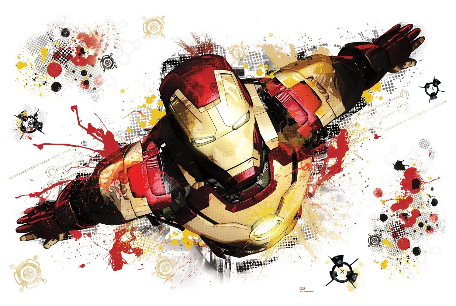 Star Wars Lego Wall Stickers Iron Man 3 Giant Peel And Stick Wall Decal